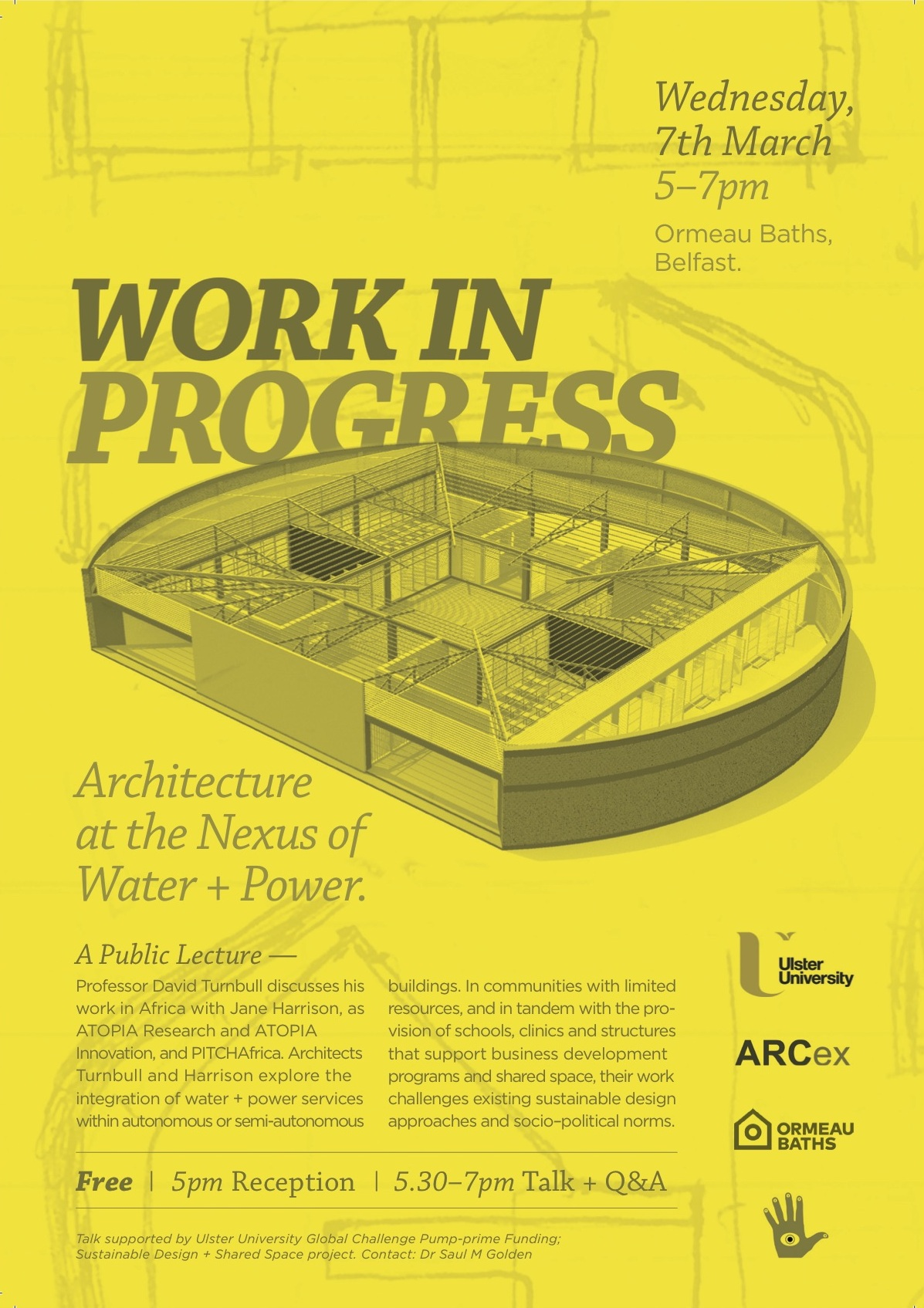 WORK IN PROGRESS:  Architecture and the Nexus of Water and Power